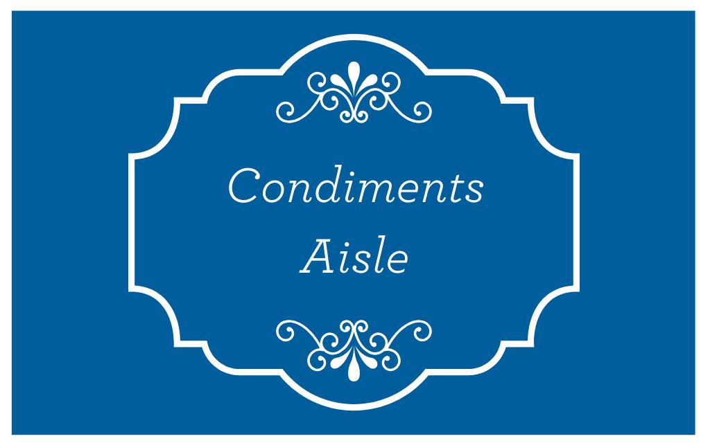 Condiments Aisle
