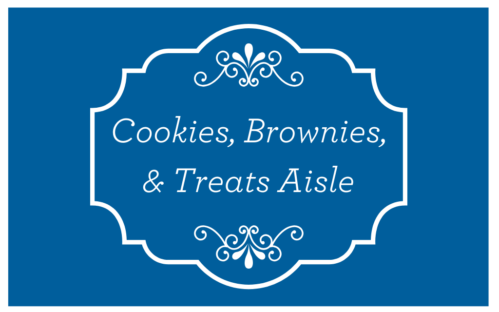 Cookies, Brownies, & Treats Aisle