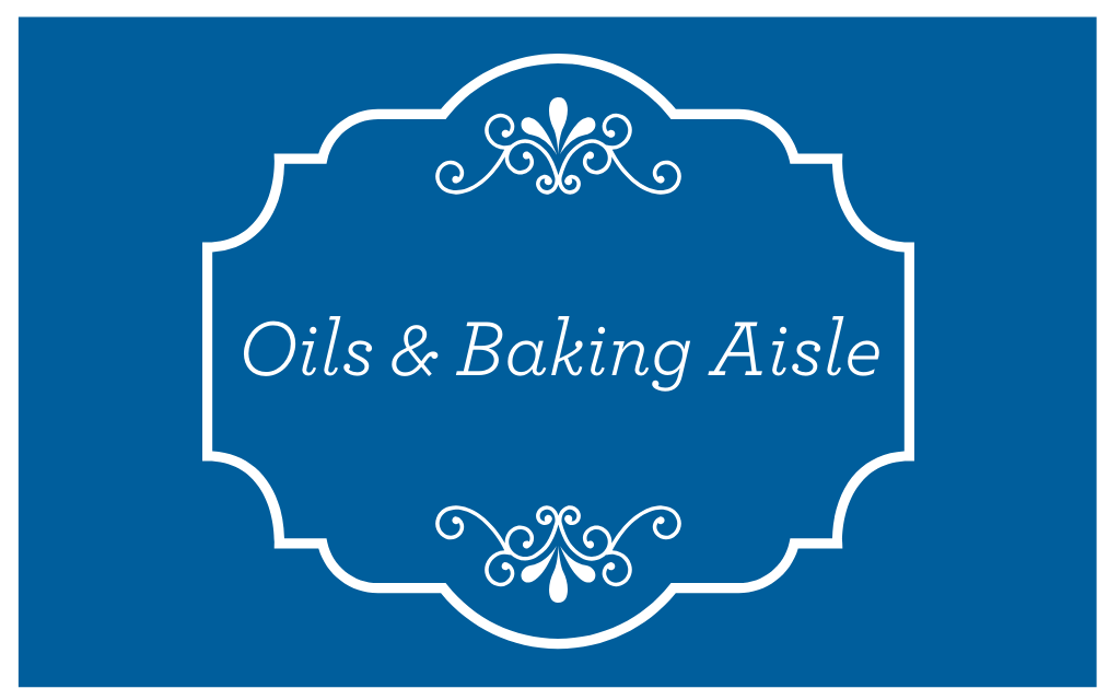 Oils & Baking Aisle