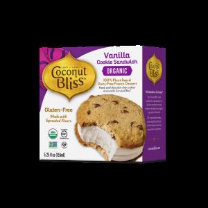 Coconut Bliss Ice Cream Sandwich