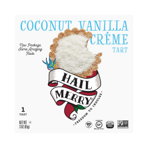 Hail Merry's Coconut Vanilla Cream Tart