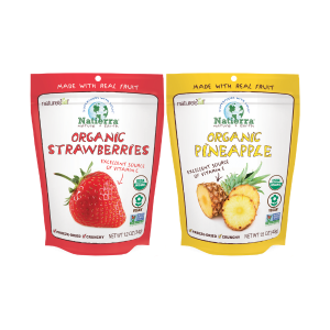 Nature's All Natierra Freeze Dried Strawberry and Pineapple