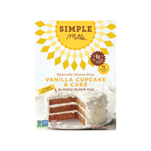 Simple Mills Vanilla Cake and Cupcake Mix