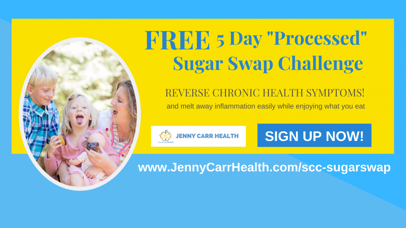 "The 5 Day ""Processed"" Sugar Swap Challenge"